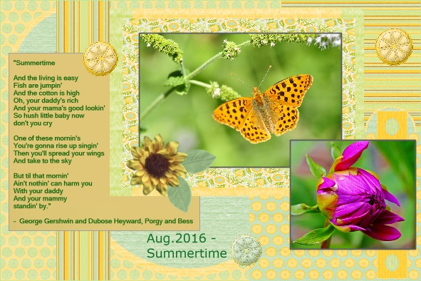 Aug.2016 - Summertime