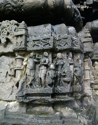 Magnificient stone carvings and architecture of the Ambernath Shiva Temple in Maharastra