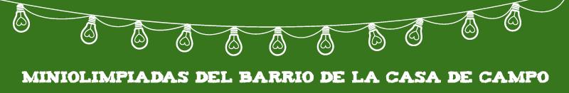 Miniolimpiadas Barrio Casa de Campo