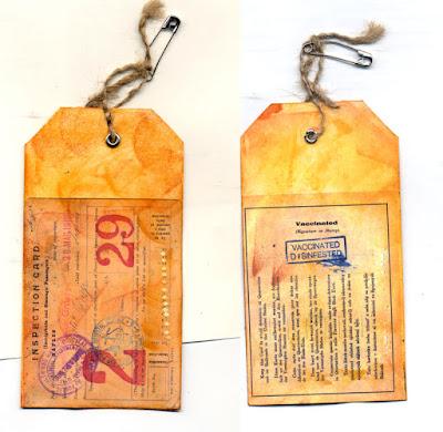 Ellis Island ID tags