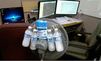 Truco para combatir el calor