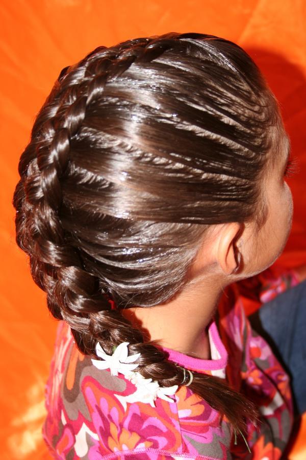 Cursos De Peinados Para Niña - Peinado para niñas Curso #6 (LA MARIPOSA) YouTube