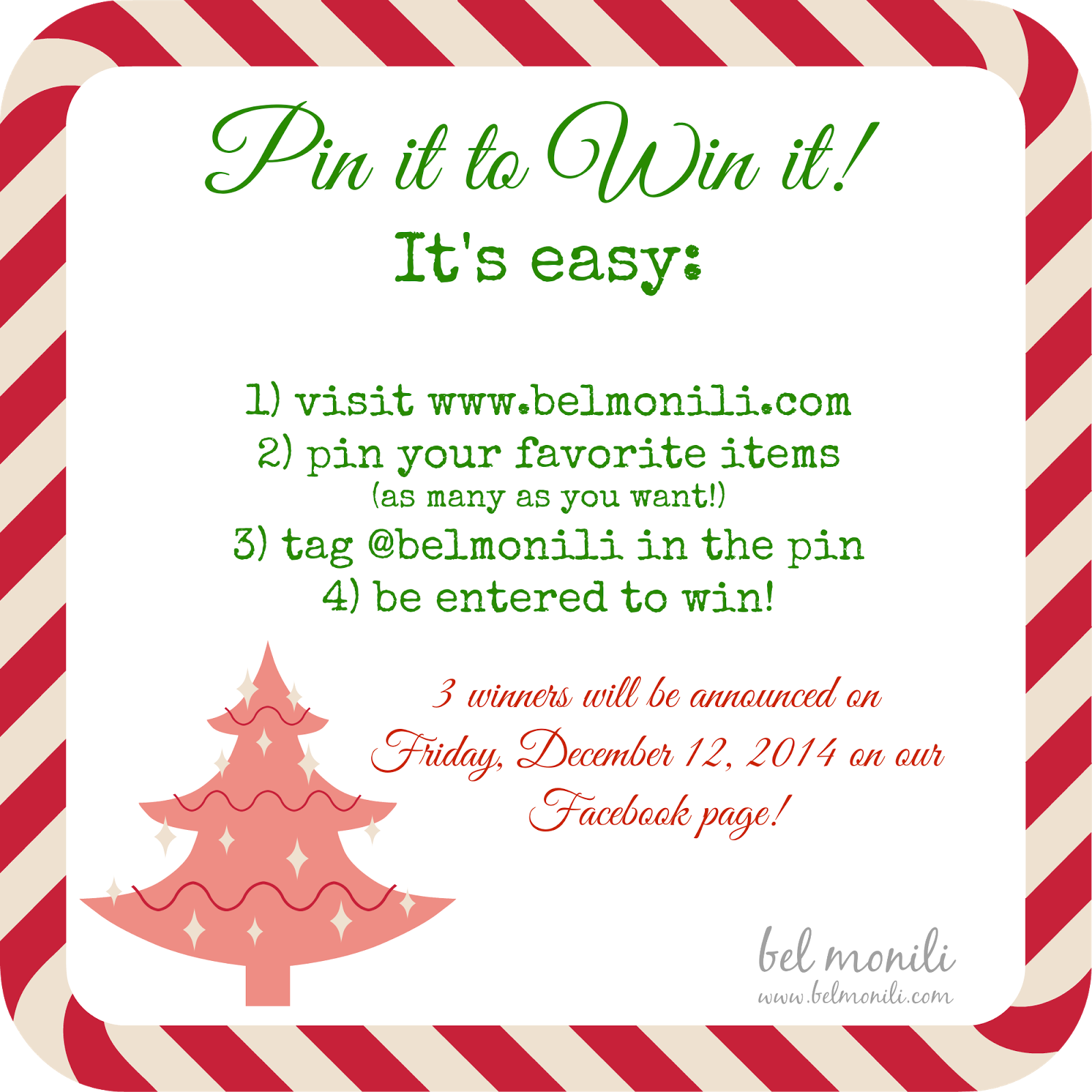 bel monili, pinterest, pin it to win it, giveaway, holiday gift, teacher gift, pittsburgh gift, etsy, etsy giveaway