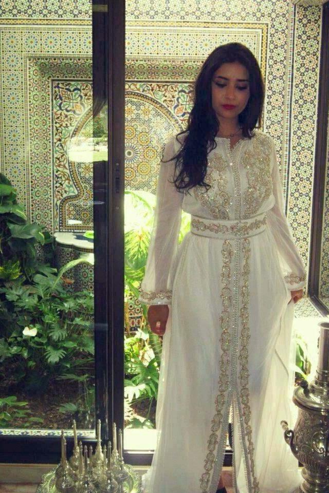 caftan 2015 blanc mariage mod les chics vente caftan marocain en ligne 2017 boutique vente. Black Bedroom Furniture Sets. Home Design Ideas