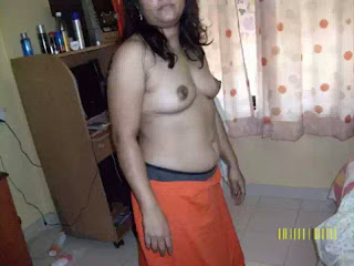 Nirmala chachi showing hairy chut and boobs to her lover   nudesibhabhi.com