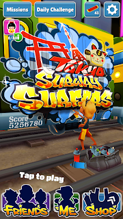 Subway Surfers cracked unlimited coins+ keys