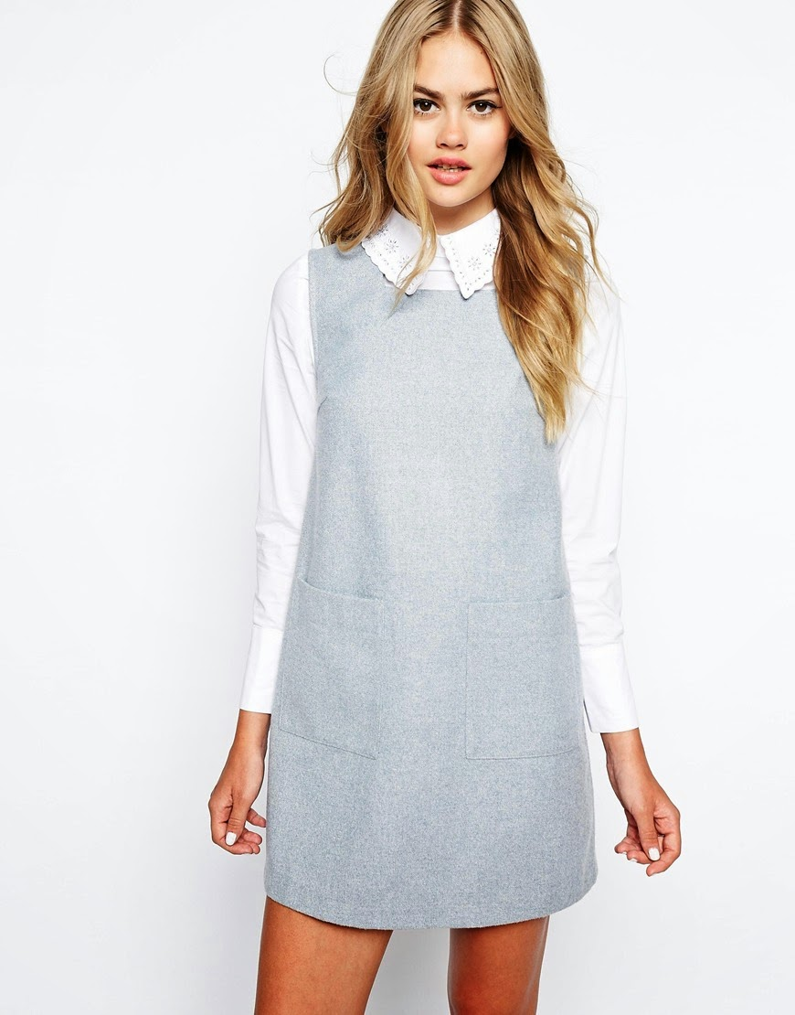 sister jane pinafore dress, shirt and pinafore dress