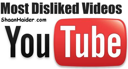 Top 10 Most Disliked YouTube Videos