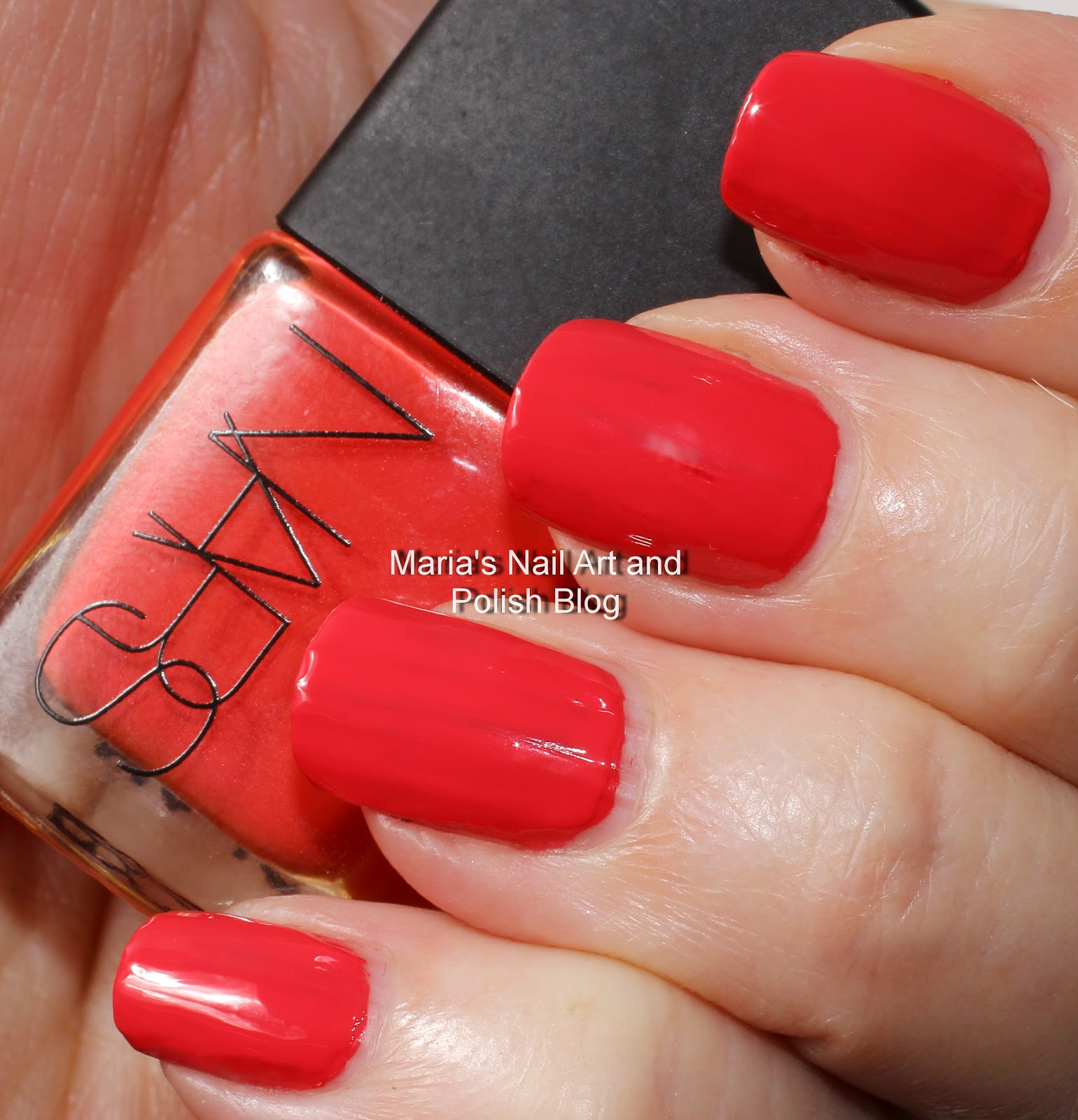 Marias Nail Art And Polish Blog Flushed With Stripes And: Marias Nail Art And Polish Blog: NARS Beautiful Stranger