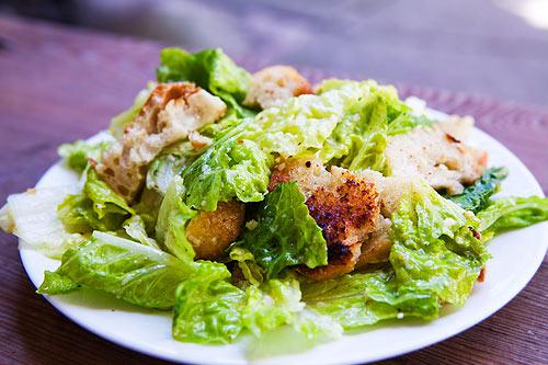 Caesar Salad Drawing Cardini's Original Recipe