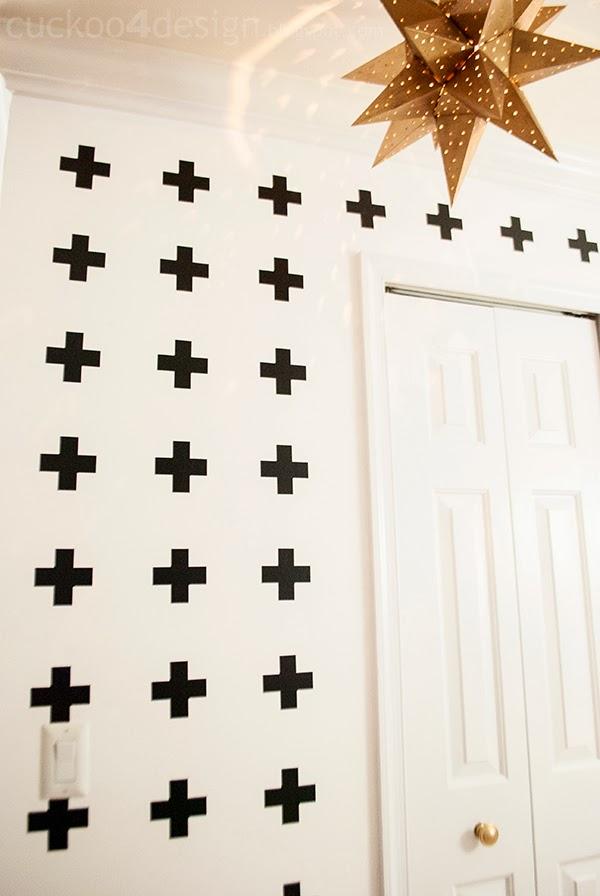 Pia Wallen Cross blanket inspired wall