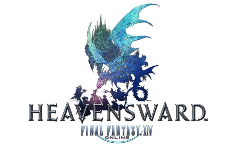 Resultado de imagem para Final Fantasy XIV: Heavensward logo png