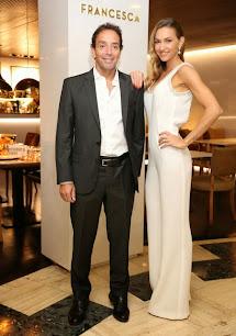 Andrea Bursten junto a su socio, Guillermo Reinwich