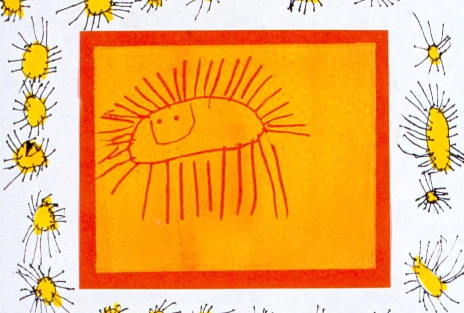 Art For Small Hands Printing Amp Drawing Suns And Frames