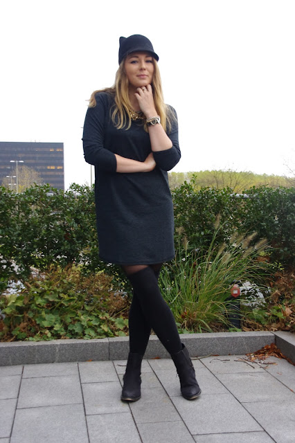 fashionblogger, hamburg, coutie blue dress,