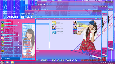 JKT48 Tema untuk Windows 7 [Full Edited]