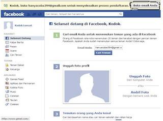 daftar fb facebook