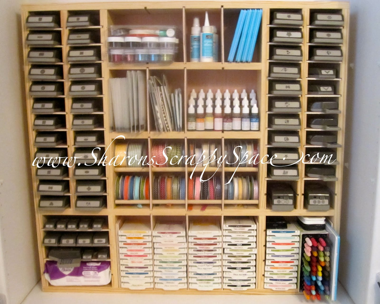Attrayant The Ultra Scrapbook Storage Unit Is The Most Versatile Of All Sharonu0027s  Scrappy Space Storage Units! It Will Hold All Your Punches And Just About  Any ...