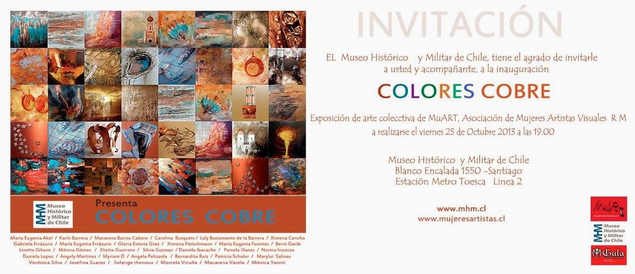 Colores Cobre