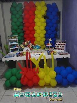 Decoração de Balões e Peças Provençais NoCaprixo