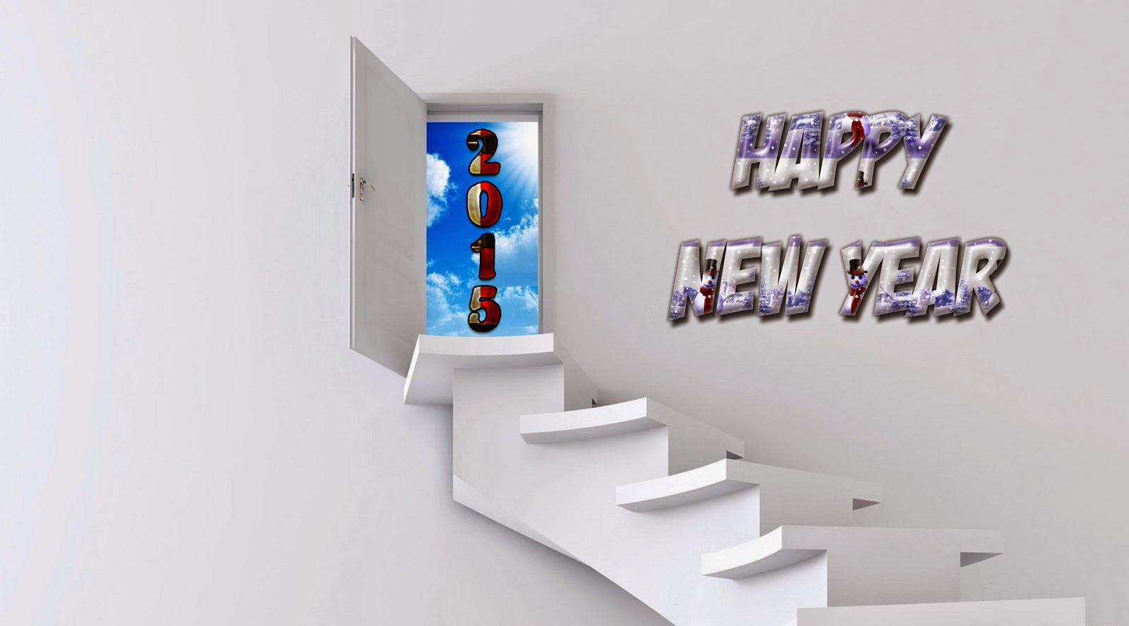 Happy New Year 2015 - HD Wallpapers