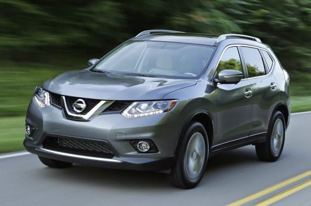 Nissan Rogue con sistema de visión periférica