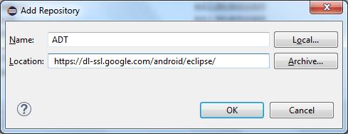 Cara Install ADT plugin di Eclipse Untuk Membuat Aplikasi Android