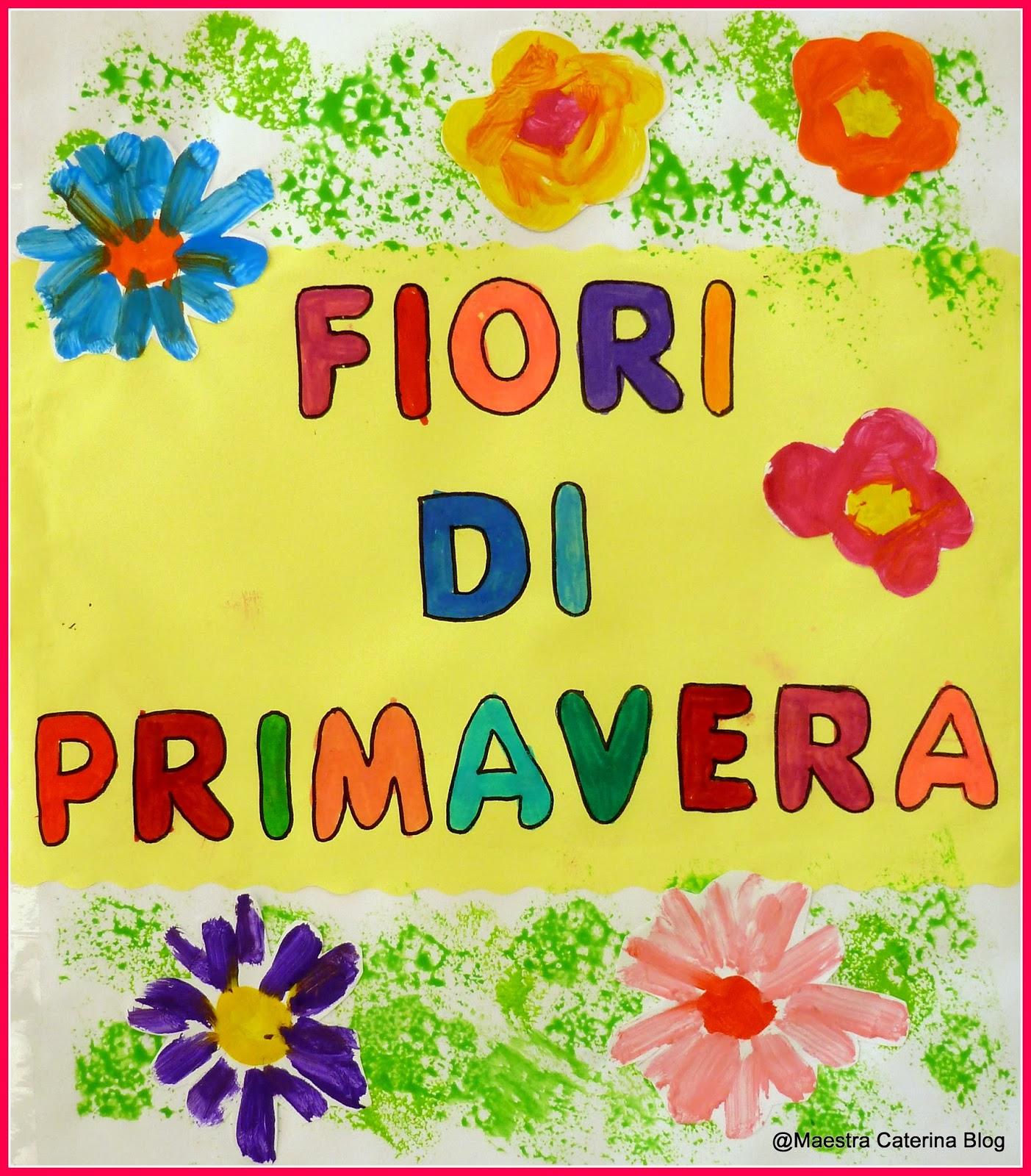 Maestra caterina lapbook fiori di primavera for Maestra renata