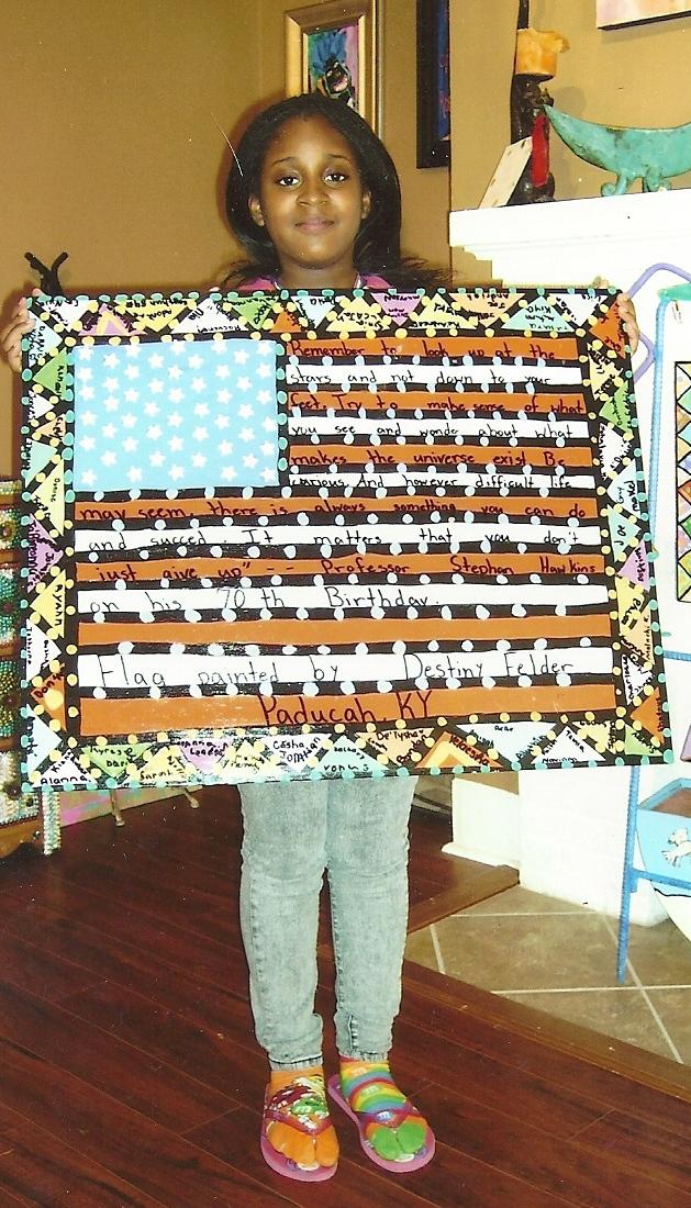 Destiny+and+flag+2 Gay Pride Taos 2010 Gay la la   The Taos News: News