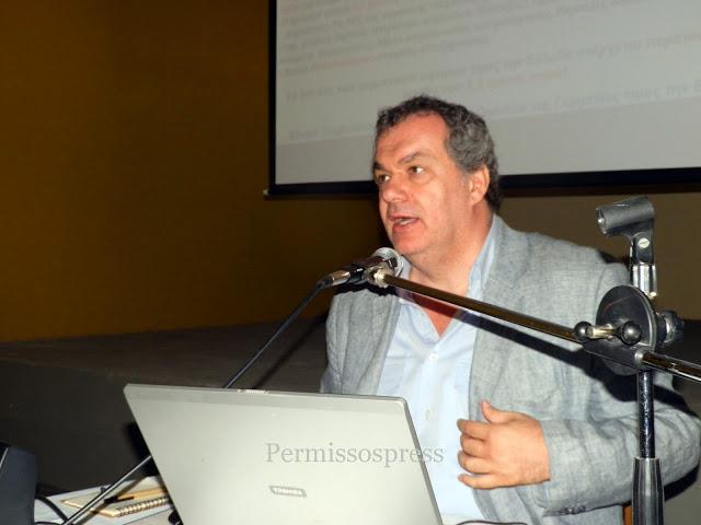 Ομιλία του δημοσιογράφου Γιώργου Λεκάκη στην Άσκρη