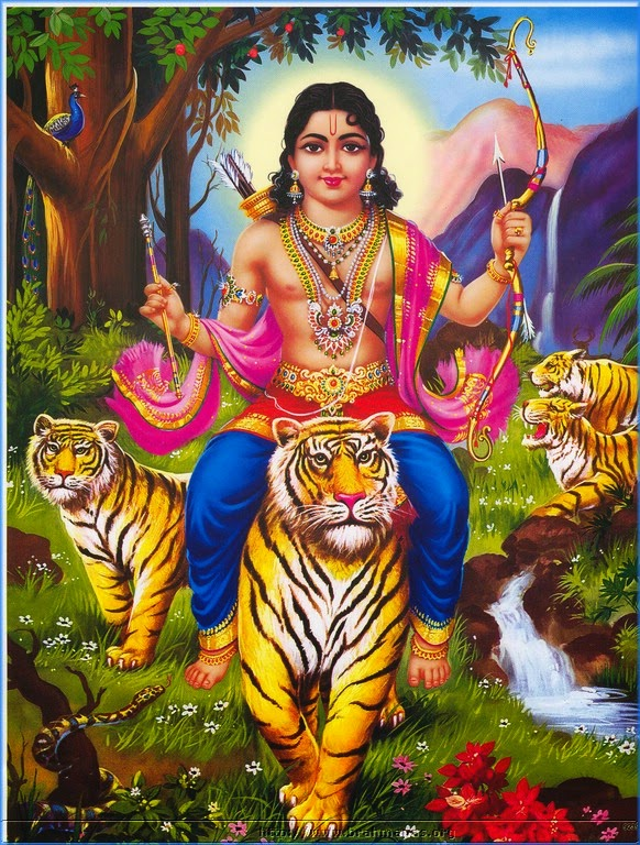 Tiger and Hinduism