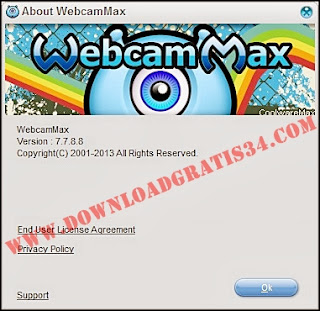 Software webcammax valid full