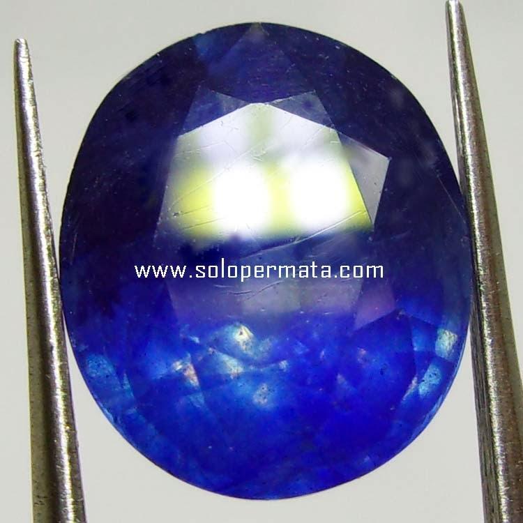 Batu Permata Royal Blue Sapphire
