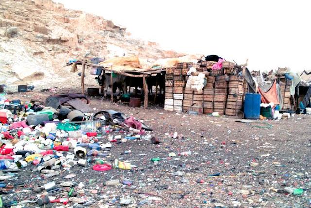 Slums in Marrakesch - Armut