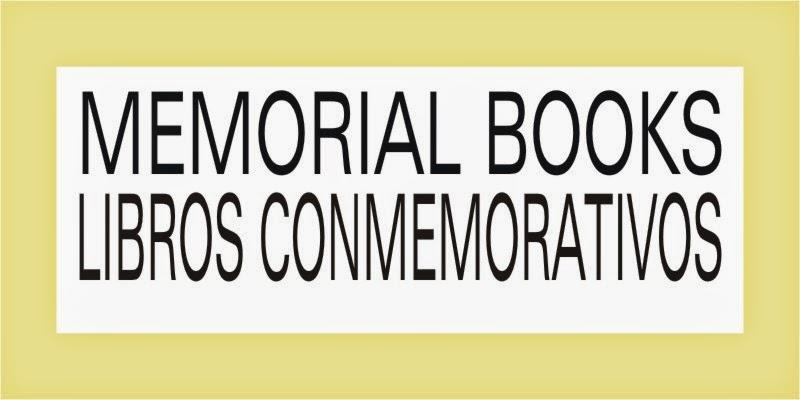 MEMORIAL BOOKS Libros Conmemorativos