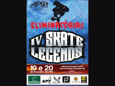 IV Skate Legends - Eliminatória