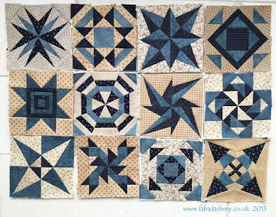 Miniature Block of the Month - The Quilt Room
