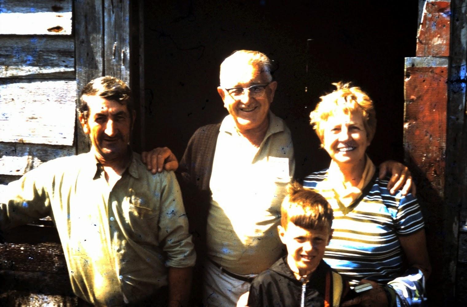 Great Paradise, 1970: Loyola Pomeroy, Alton & Elizabetth Wilson, & Gerald Sorensen.