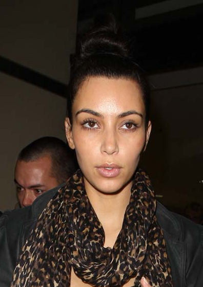 Hot Actress Pics: Kim Kardashian No Makeup