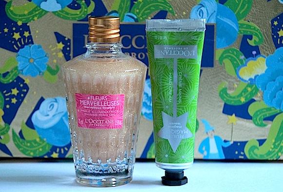 l'occitane fleurs merveilleuses collection noel рождество 2012