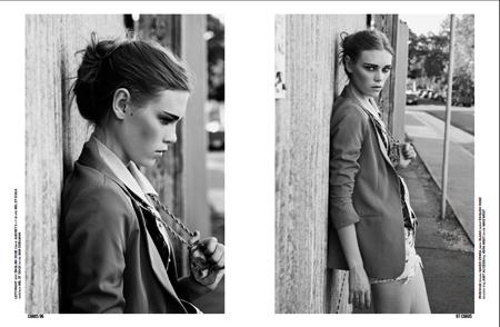 Caitlin Holleran 2 - Cast Images model - Chaos Magazine - San Francisco