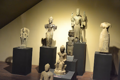 ancient sculptures , Vietnam National Museum of History building