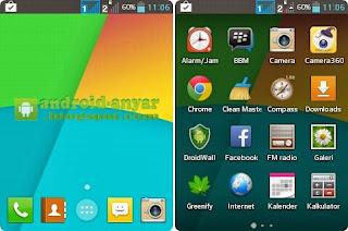 Trik ubah Android ke KitKat 4.4 tanpa root