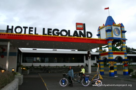 Happiness is a Lego brick: Legoland Billund