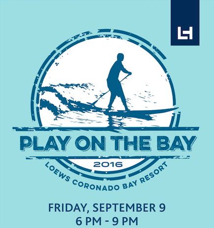 Enter to win tickets to Loews Coronado's Play On The Bay Event - September 9