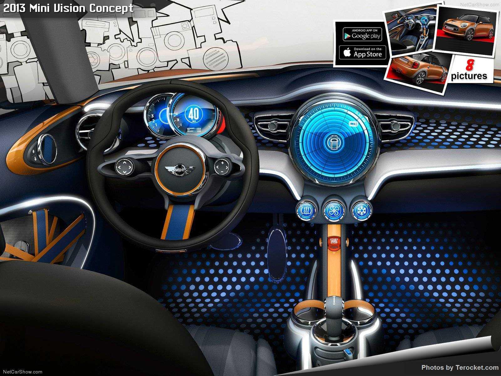 Hình ảnh xe ô tô Mini Vision Concept 2013 & nội ngoại thất