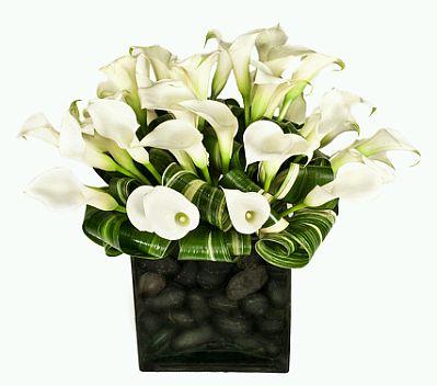 Decoración+de+Bodas,+Centros+de+Mesa+y+Arreglos+Florales+en+Blanco+y ...
