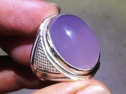 Batu akik Lavender asli Baturaja