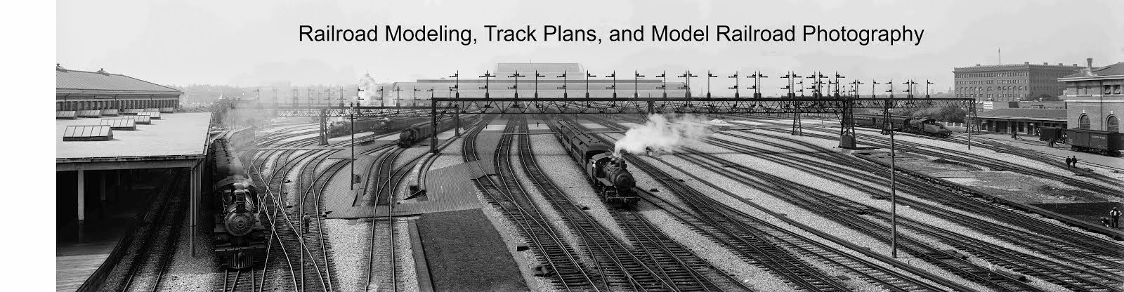 Railroad Modeling, Track Plans, and Model Railroad Photography
