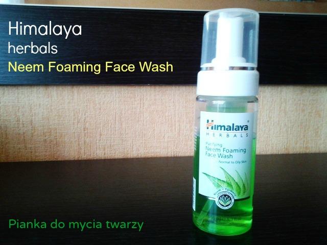 Himalaya Herbals - Pianka do mycia twarzy.